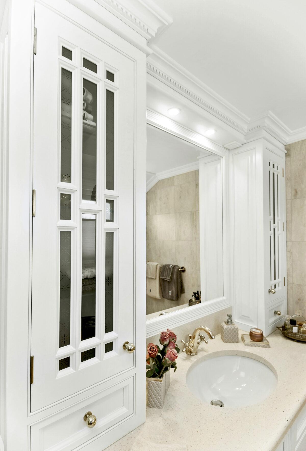 Klassisk badinnredning